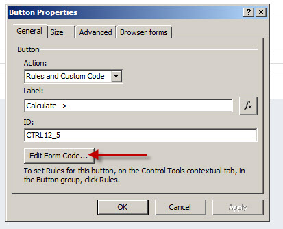 Edit Form Code