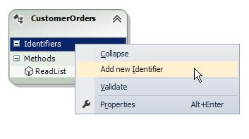 Add New Identifier
