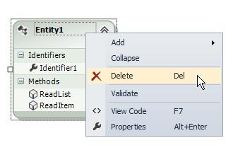 Delete Entity1