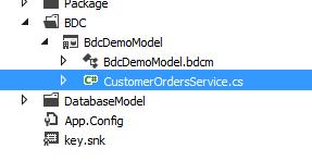 New Customer Order Service Class