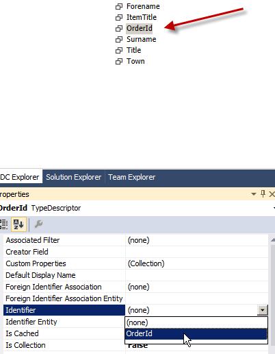 Set OrderId Identifier