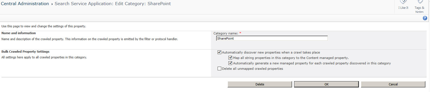 Enable Auto Property Creation